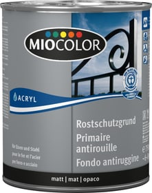 Acryl Rostschutzgrund Grau 750 ml Rostschutzgrund Miocolor 660561800000 Farbe Grau Inhalt 750.0 ml Bild Nr. 1