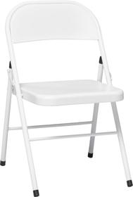 MAURO Chaise 402378900010 Dimensions L: 44.0 cm x P: 50.0 cm x H: 76.0 cm Couleur Blanc Photo no. 1