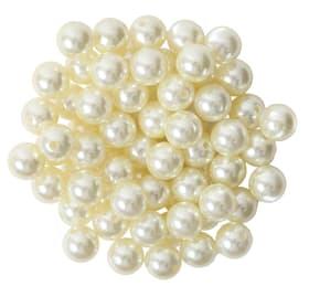 Perlen mit Loch Deko Perlen Do it + Garden 656547400002 Farbe Crème Grösse ø: 14.0 mm Bild Nr. 1