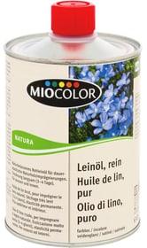 Natura Huile de lin, pure Incolore 500 ml Huiles + Cires pour le bois Miocolor 661284300000 Photo no. 1