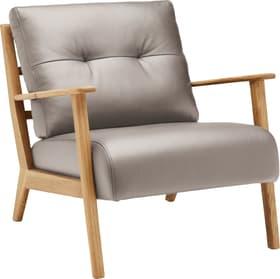 FAUST Sessel 402467007080 Grösse B: 76.0 cm x T: 80.0 cm x H: 78.0 cm Farbe Grau Bild Nr. 1