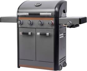 SANTIAGO 4B+ Grill a gas Sunset BBQ 753562500000 Versione con montaggio professionale N. figura 1