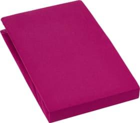 EVAN Drap-housse en jersey stretch 451053930539 Couleur Rouge foncé Dimensions L: 180.0 cm x H: 200.0 cm Photo no. 1