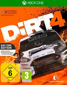 Xbox One - DiRT 4 Steelbook Edition (D) Box 785300135189 N. figura 1