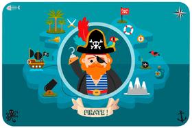 Pirate Tischset 753343300000 Bild Nr. 1