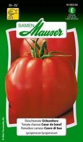 Fleischtomate Ochsenherz Gemüsesamen Samen Mauser 650118804000 Inhalt 0.25 g (ca. 30 Pflanzen oder 15 m² ) Bild Nr. 1