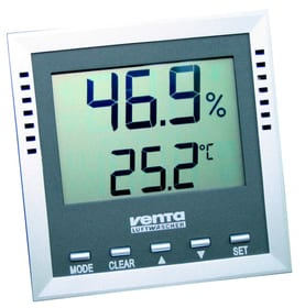 Thermo-Hygrometer silber