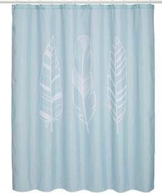FEATHER Tenda da doccia 453158000000 N. figura 1