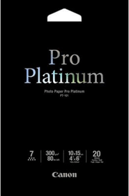 Pro Platinum Photo Paper 10x15cm PT-101 Papier photographique Canon 798533400000 Photo no. 1