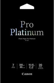 Pro Platinum Photo Paper 10x15cm PT-101 Carta fotografica Canon 798533400000 N. figura 1