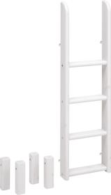 CLASSIC Scaletta diritta letto caso Flexa 404801000000 Dimensioni L: 41.0 cm x P: 11.0 cm x A: 131.0 cm Colore White Wash N. figura 1