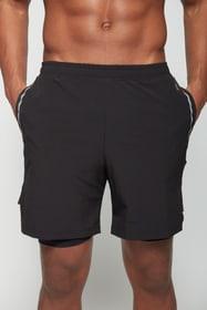 Shorts 2in1 Laufshorts Perform 470461000420 Grösse M Farbe schwarz Bild-Nr. 1