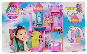 Regenbogen Schloss Puppenset Barbie 747936300000 Bild Nr. 1