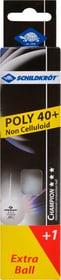 TTF Poly 40+ Tischtennisball Schildkröt 491639500000 Bild Nr. 1