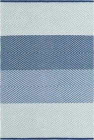 BOBO Tappeto 412018012040 Colore blu Dimensioni L: 120.0 cm x P: 170.0 cm N. figura 1