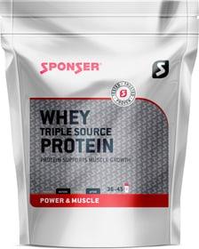 Whey triple source Protein Proteinpulver Sponser 463046803610 Farbe weiss Geschmack Schokolade Bild-Nr. 1
