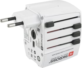 World Adapter MUV USB Reiseadapter Skross 612104300000 Bild Nr. 1