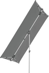 FLEX ROOF Parasol Suncomfort by Glatz 408050300000 Dimensions L: 210.0 cm x P: 150.0 cm x H: 215.0 cm Couleur Gris foncé Photo no. 1