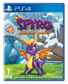 PS4 - Spyro Reignited Trilogy Box 785300134985 Plate-forme Sony PlayStation 4 Langue Allemand, Italien, Anglais, Français Photo no. 1