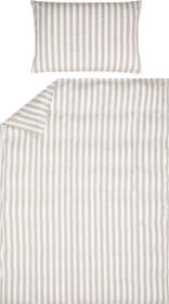 LIVIO Federa per cuscino raso 451304710974 Colore Beige Dimensioni L: 65.0 cm x A: 100.0 cm N. figura 1