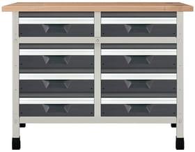 Werkbank No. 10 1130 x 650 x 860 mm 8069 Werkstatt-System Wolfcraft 601457600000 Bild Nr. 1