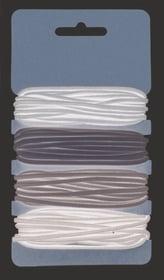 Gummibänder, 4x3m; Ø 2mm beige/grau/braun/schwarz 608144500000 Bild Nr. 1