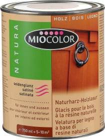 Glacis pour bois Aqua Blanc 750 ml Glacis Miocolor 661116100000 Contenu 750.0 ml Photo no. 1