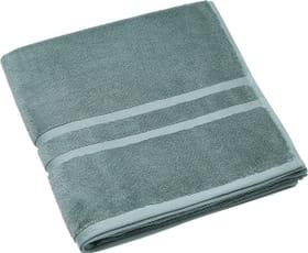 MANUEL Duschtuch 450864820540 Grösse B: 70.0 cm x H: 140.0 cm Farbe Blau, Grau Bild Nr. 1