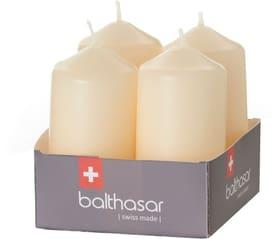Zylinderkerze Kerze Balthasar 656205000001 Farbe Beige Grösse ø: 4.0 cm x H: 8.0 cm Bild Nr. 1