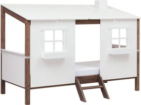 TREE HOUSE Maison entiére comprenant un lit simple Flexa 404985800000 Dimensions L: 129.5 cm x P: 210.0 cm x H: 154.0 cm Couleur Terre Photo no. 1