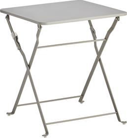 PEDONDA Table d'appoint 408002600080 Couleur Gris Dimensions L: 40.0 cm x P: 40.0 cm x H: 46.0 cm Photo no. 1