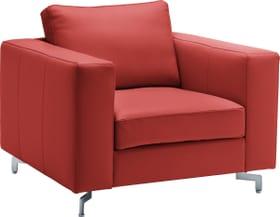 DIENER Fauteuil 402470900000 Dimensions L: 97.0 cm x P: 92.0 cm x H: 80.0 cm Couleur Rouge Photo no. 1