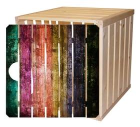 Cassetta in legno A1/2 con porta arcobaleno Cassetta in legno HolzZollhaus 643206000000 N. figura 1