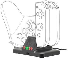Nintendo Switch QUAD Multi-Charger Ladegerät Speedlink 785300151306 Bild Nr. 1