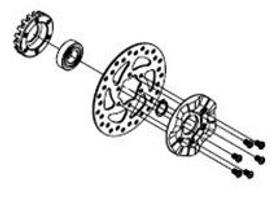 Bremsscheibe mit Aufnahme Chariot Sport Thule 9000042275 Bild Nr. 1