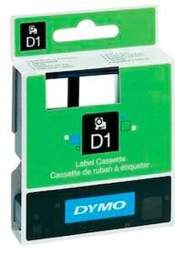 Schriftband D1 schwarz/transparent 9mm/7m Schriftband Dymo 798276500000 Bild Nr. 1