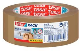 tesapack® ultra strong 66m:38mm brun Rubans adhésifs Tesa 663075100000 Photo no. 1