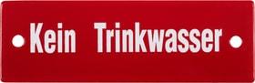 Panneau en émail Kein Trinkwasser 605068300000 Photo no. 1