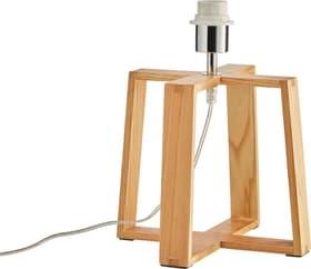 LINA Pied de lampe de table 421240600070 Dimensions H: 32.0 cm x D: 26.5 cm Couleur Bois clair Photo no. 1