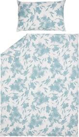 DANEL Perkal-Kissenbezug 451317210640 Farbe Blau Grösse B: 65.0 cm x H: 65.0 cm Bild Nr. 1