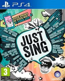 PS4 - Just Sing Box 785300129612 Photo no. 1