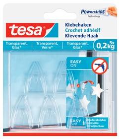 Klebehaken Glas transparent, 0.2 kg Klebehaken Tesa 675226600000 Bild Nr. 1