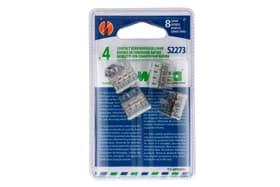 S2273 Compact, 8 ingressi, 4 pezzi Morsetti per connessione rapide Wago 613094100000 N. figura 1