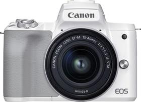 EOS M50 Mark II + 15-45mm F3.5-6.3 IS blanc Kit appareil photo hybride Canon 793446700000 Photo no. 1