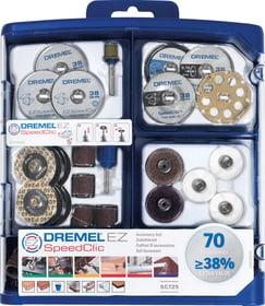 EZ SpeedClic set accessorio 70 pz. (SC725) Perni / Vario Dremel 616111300000 N. figura 1