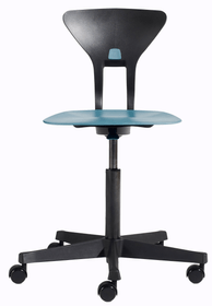 RAY Sedia da ufficio Flexa 404689400040 Colore Blu Dimensioni L: 60.0 x P: 60.0 x A: 95.0 N. figura 1