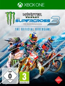 Xbox - Monster Energy Supercross 3 Box 785300150271 Bild Nr. 1