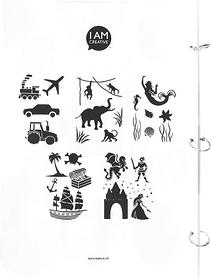 Stencil Book 5 Pochoir