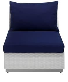 ASSOS Sessel mit Rückenlehne inkl. Kissen 75311750000011 Bild Nr. 1