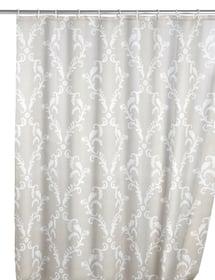 Rideau de douche Baroque anti-moisissure WENKO 674006400000 Couleur Gris-Blanc Taille 180 X 200 CM Photo no. 1